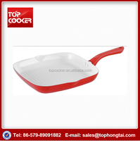 New Arrival Ceramic Coating Grill Pan With Strips