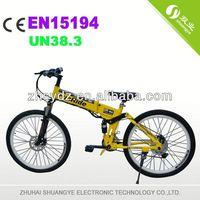 2013 new design green power electric bike
