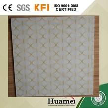 fireproof moistureproof pop square ceiling design for decoration