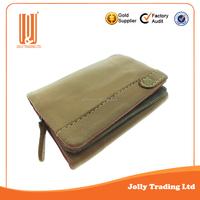 Popular styles genuine leather wallet genuine men purse