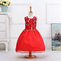red dress baby girls new frock design long children 2015 new frock design