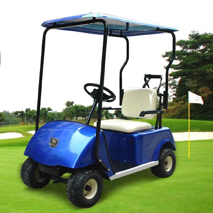 Single seat electric golf cart for sale dg c1 with ce for Motorized carts for sale