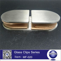 Glass partition brace,stainless steel glass clip,stainless steel wood clamp