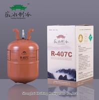 11.3KG disposable Cylinder package refrigerant R407c