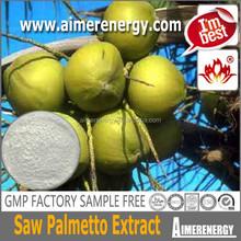 Pharmaceutical Grade Saw Palmetto Extract Fatty acid 25%, 45% Saw Palmetto