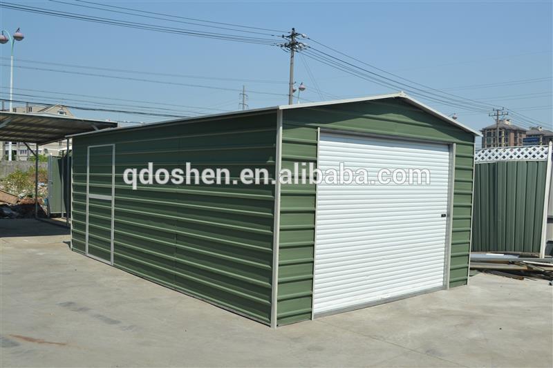 Garage en m tal abri de jardin stockage hangar m tallique for Hangar jardin