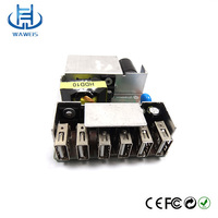 5 Port Usb Powerport Usb Charger 50w Charging Hub Multi Port Usb Station
