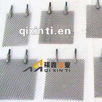 Hydrogen electric generators Using platinum coated titanium mesh