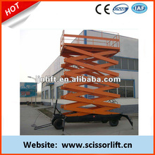 Mobile electric scissor lift mechanism/small lift