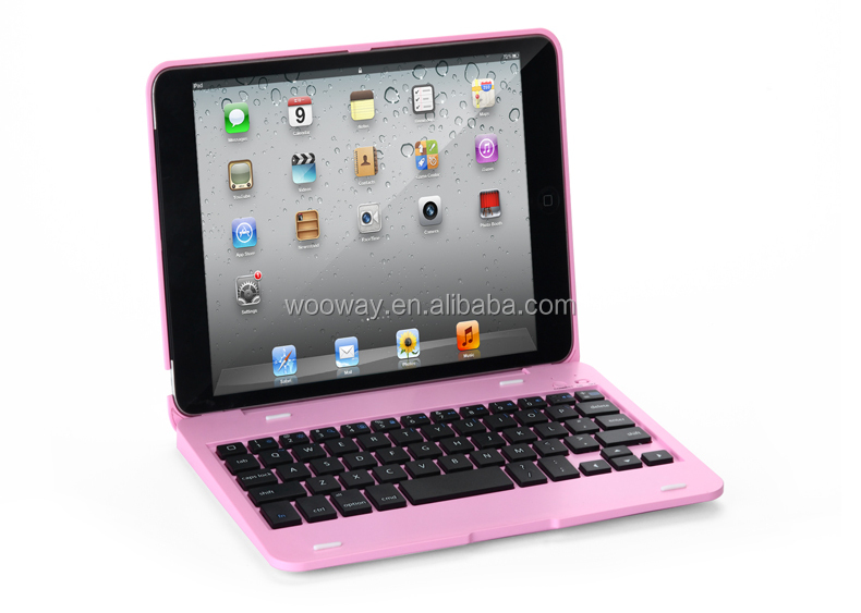 Stand PU Leather Case Cover with Bluetooth Keyboard Stylus for Apple iPad mini