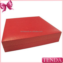 Factory in Dongguan China high grade flocking red velvet bracelets boxes