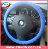 Hot car accessories car silicone steering wheel cover with lights