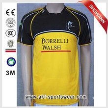 2016 Tight Fit custom rugby jersey/all blacks rugby jersey/long sleeve rugby jersey