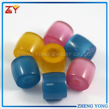 Multicolor Cat Eye Glass Beads for Necklace