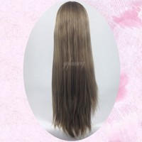 Cheap Blond Human Hair India Sexi Women Long Wig Women Wigs