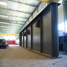 la estructura de fabricación de acero
