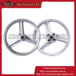 H Model motorcycle aluminum wheel rim with 2.50-17 for KM001