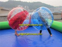 hot sale to US inflatable bumper football, giant crazy loopy soccer