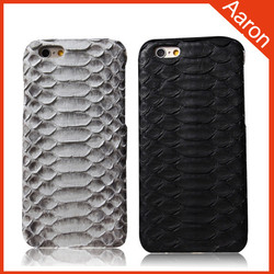 Real snake handmade texture phone case for iphone case for iphone 6 case
