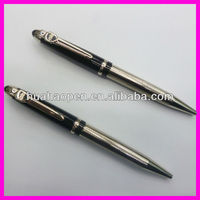 stylish metalic ball pens with top quality custom LOGO