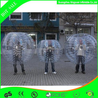 high quality crazy human sized soccer bubble ball,bubble soccer with discount