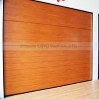 Automatic Sectional Garage Doors CE Certificated