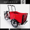 durable and confortable front loading BRI-C01 pedal coffee tricycle cargo bike