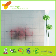 removable static cling window film, plastic film