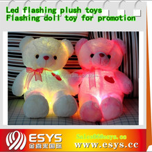 Talking color change plush toy for girls