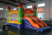 Outdoor Commercial Combo inflatable jumping castle,inflatable castle with slides