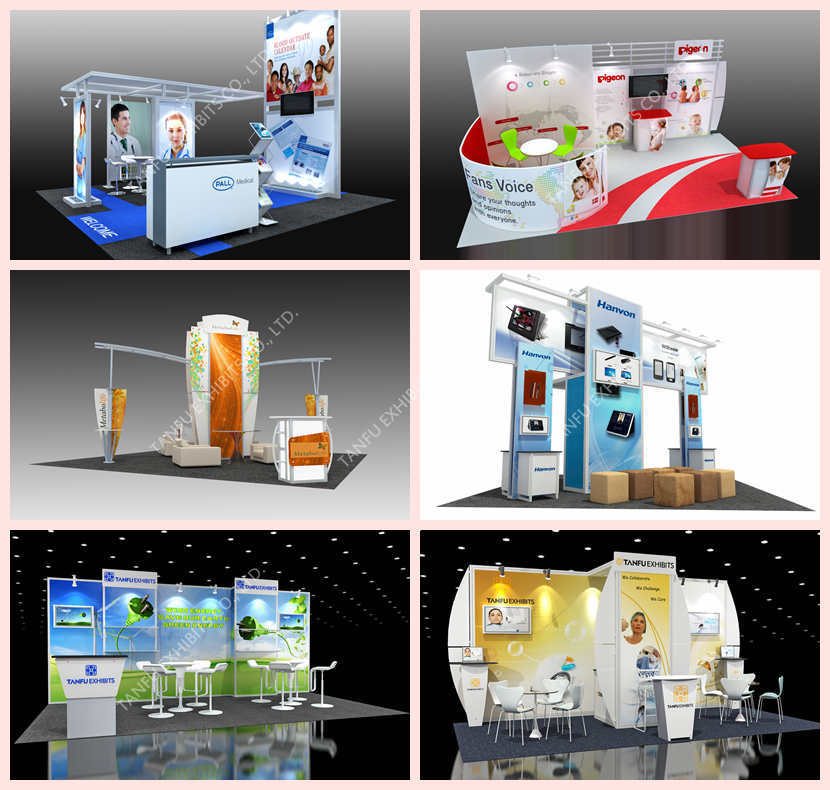 3x3 Or 10x10 Shell Scheme Exhibition Booth From Tanfu Buy