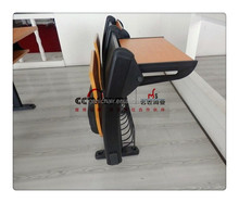 college furniture school chair and desk with writing table metal student chair