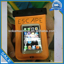 colored promotional waterproof dry case with custom logo