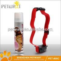 PET-805C remote anti bark spray collar dog bark control spray