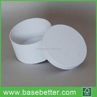 White Round Candle Paper Box