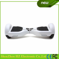 2015 Electric Mini Two Wheels Scooter, Two Smart Motors for Easy and Stable Balancing Two Wheels Self Balance (White)