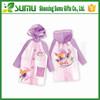 High Quality 100%pvc Coating Polyester Raincoat Kid