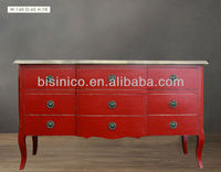 French Antique Vintage Chest Of Drawers