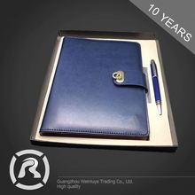 Humanized Design Specialized Produce Stitched Business Gift Notebook Agenda Custom