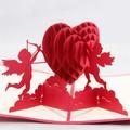 Fábrica venta al por mayor, Unique 3D estereogramas BW6637W tarjeta de invitación de boda