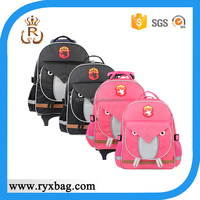 School Trolley Bag Wholesale Kids Backpack with Wheels for students
