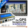 alpine W407E car dvd player with gps Navigation box