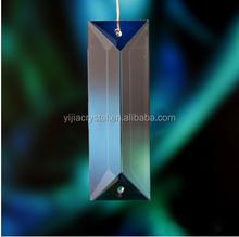 2015 venta caliente de la alta calidad cristal facetado prisma para araña