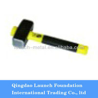 german type carpenter hammer with color plastic-coating handle