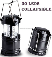 Ultra Bright Collapsible 30 Led Lightweight Camping Lanterns Light