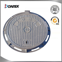 High precision stainless steel manhole cover for tank