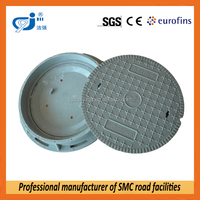EN124 passed SMC manhole cover double seal