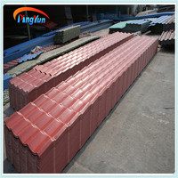 Colored Corrugated Plastic Roofing tiles/alibaba spanish/roma style roof tiles