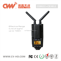 CVW100 filming camera 1080P/60Hz wireless HD video transmitter for live braodcast