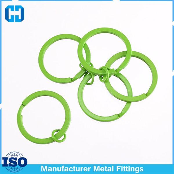 green split key ring